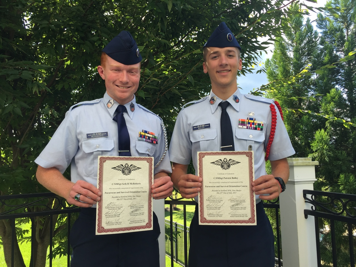 Students Active in Civil Air Patrol